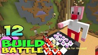 ч.12 Minecraft Build Battle - Калькулятор, Попкорн и Шахматы