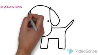 How to Draw a dog (for Kids) / Как нарисовать собаку (Для детей)(Drawing Channel - https://www.youtube.com/channel/UCaZm6IvtL9zNeDwQi571asA/videos Канал для рисования ..., 2015-02-22T11:37:53.000Z)