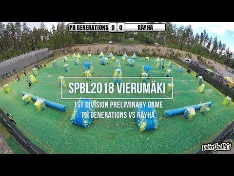 PH Generations vs Räyhä - SPBL2018 Vierumäki