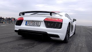 900HP Audi R8 V10 Twin Turbo - Top Speed Run!
