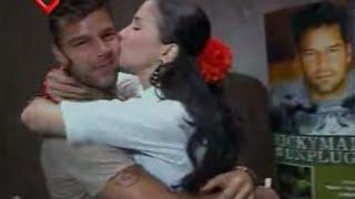 Sos Mi Vida capitulo 219, Ricky Martin besa a la Monita