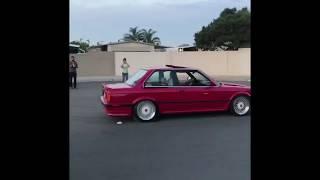 BEST GENDER REVEAL !! BURNOUT EDITION (E30 BMW)