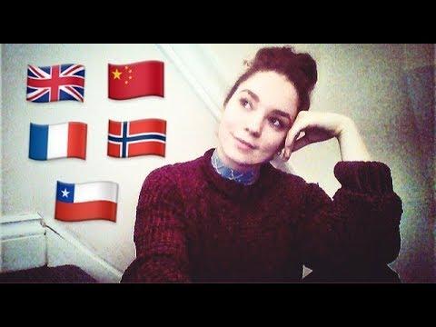 Polyglot Chats (English, French, Spanish, Mandarin, Norwegian) - Bex Jones