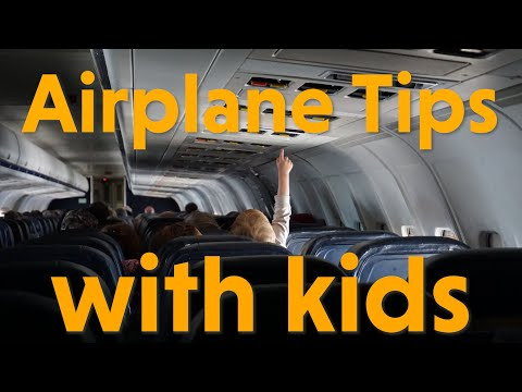 Airplane Travel Tips with Kids - Trip Review
