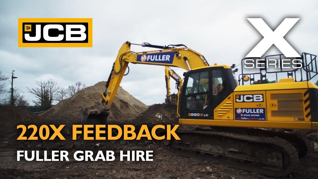 JCB 220X X Series Excavator Feedback - Fuller Grab Hire