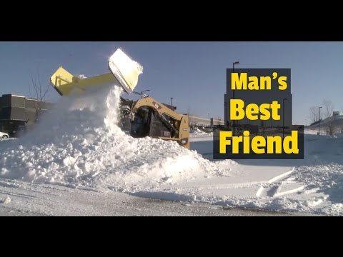 Thumbnail: The Dumbest Snow Plow Ever Made for a Skid Steer