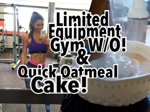 Another Photoshoot?! | Limited Equipment Wokout & 2min Oatmeal Cake! | Road To Pro Debut Ep.#31