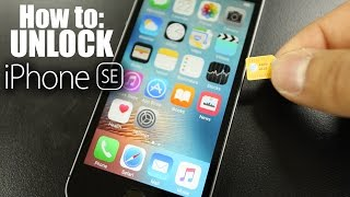 How To Unlock iPhone SE - ALL GSM CARRIERS SUPPORTED!