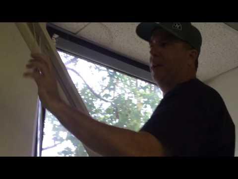 Removing Blind From Window Standard Bracket