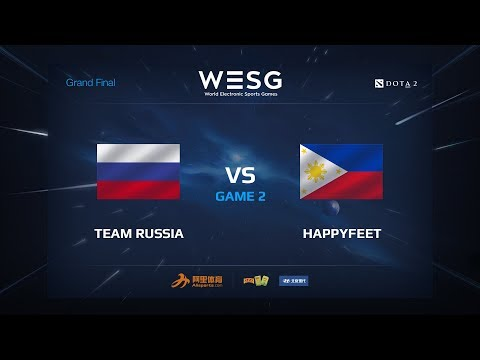 Russia vs HappyFeet - Wesg 2017 - G2