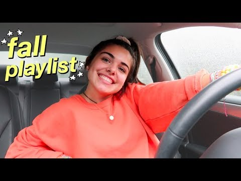 fall playlist 2018 // current favorite songs!!