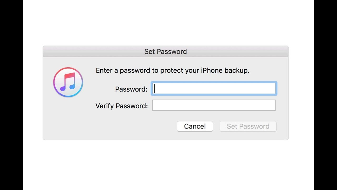 do i need to encrypt my iphone backup