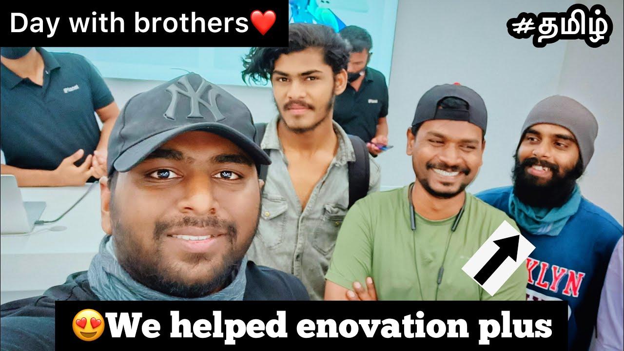 😍We helped enowaytion plus vijay anna❤️|TTF🔥| cherry vlogs ⚡️| parthi bike rider💪| Motovloggers