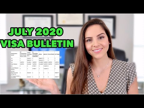 JULY 2020 VISA BULLETIN | Updates & Changes | Everything You Need To Know