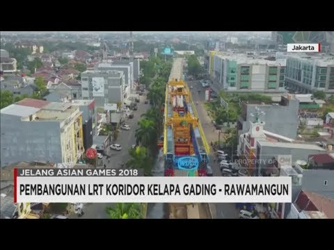 Pembangunan LRT Koridor Kelapa Gading - Rawamangun