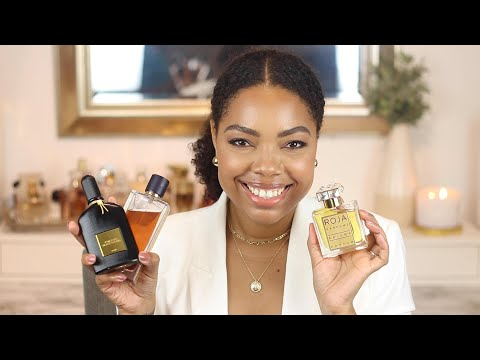 MOST UNIQUE SCENTS YOU NEED! | PERFUME COLLECTION | Karina Waldron