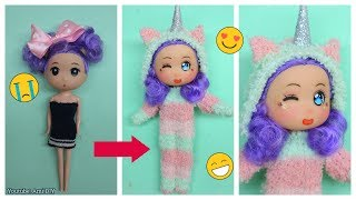 REPAINTING CHIBI DOLL | CHIBI MAKEOVER TRANSFORMATIONS