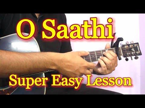 O Saathi - Baaghi 2  Guitar Chords Lesson