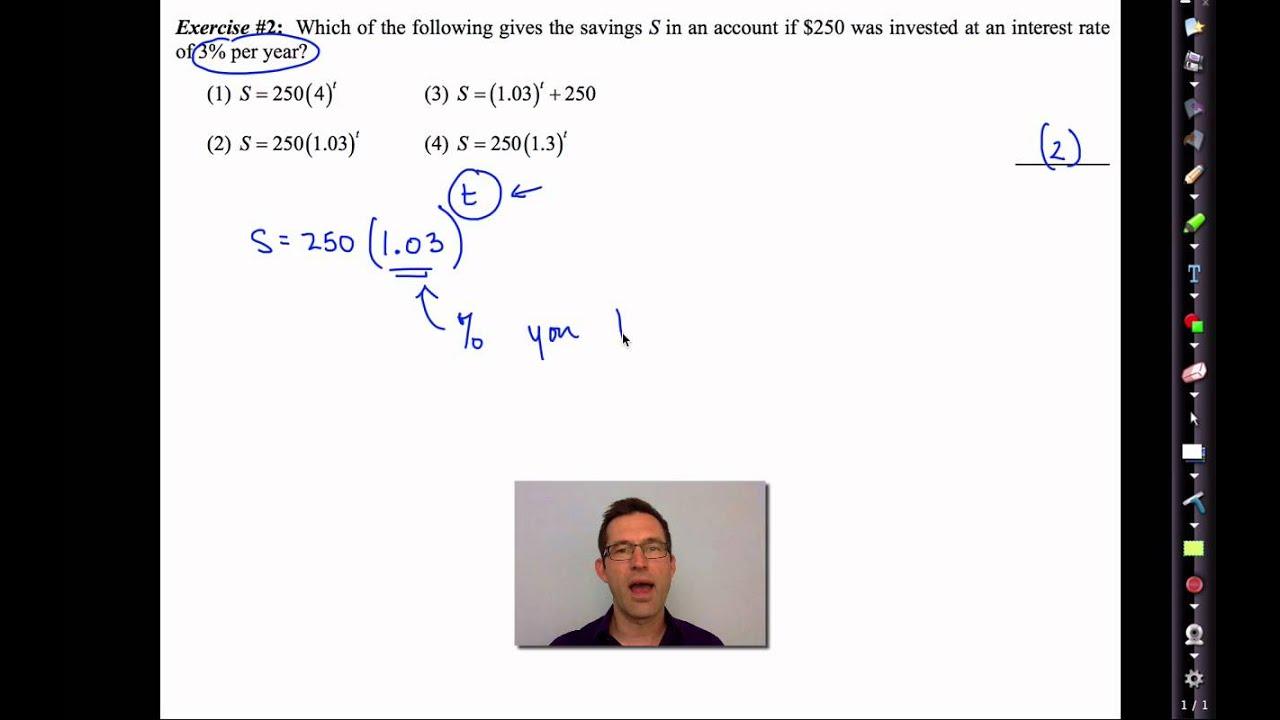 Common Core Algebra 1 Unit 3 Lesson 2 Answers
