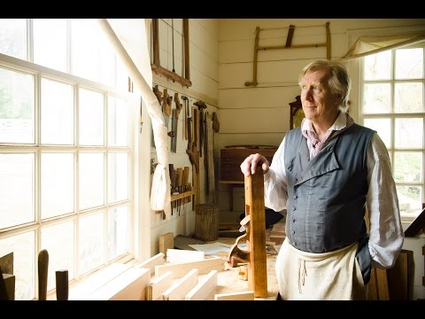 "Colonial Williamsburg Hay Cabinet Shop Tour (part 1) ""Outside the Shop"""