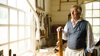 Colonial Williamsburg Hay Cabinet Shop Tour (part 1)