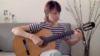 Billy Joel - Just the Way You Are - classical guitar cover - Yenne Lee - 클래식기타 연주 이예은