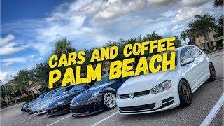 Cars and Coffee palm beach!