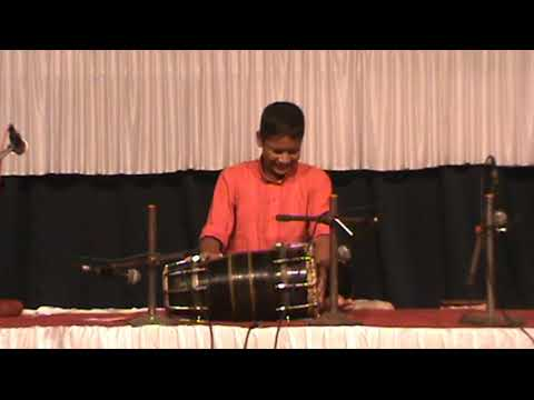 Dholki Solo by Avdhoot Kashid at Gurupournima 2017
