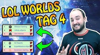 LOL WORLDS TAG 4 - Ergebnisse, Picks, Banns und Highlights