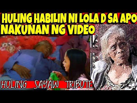 TRIBUTE: HULING SAYAW at HULING HABILIN NI LOLA DAMIANA SA APO BAGO MAMAHINGA -  (2020)