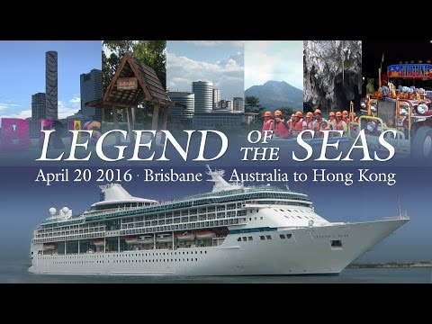 Hong Kong Repositioning Cruise 2016 - Legend of the Seas - Ship & Port Highlights (ft. Cabin 8026)