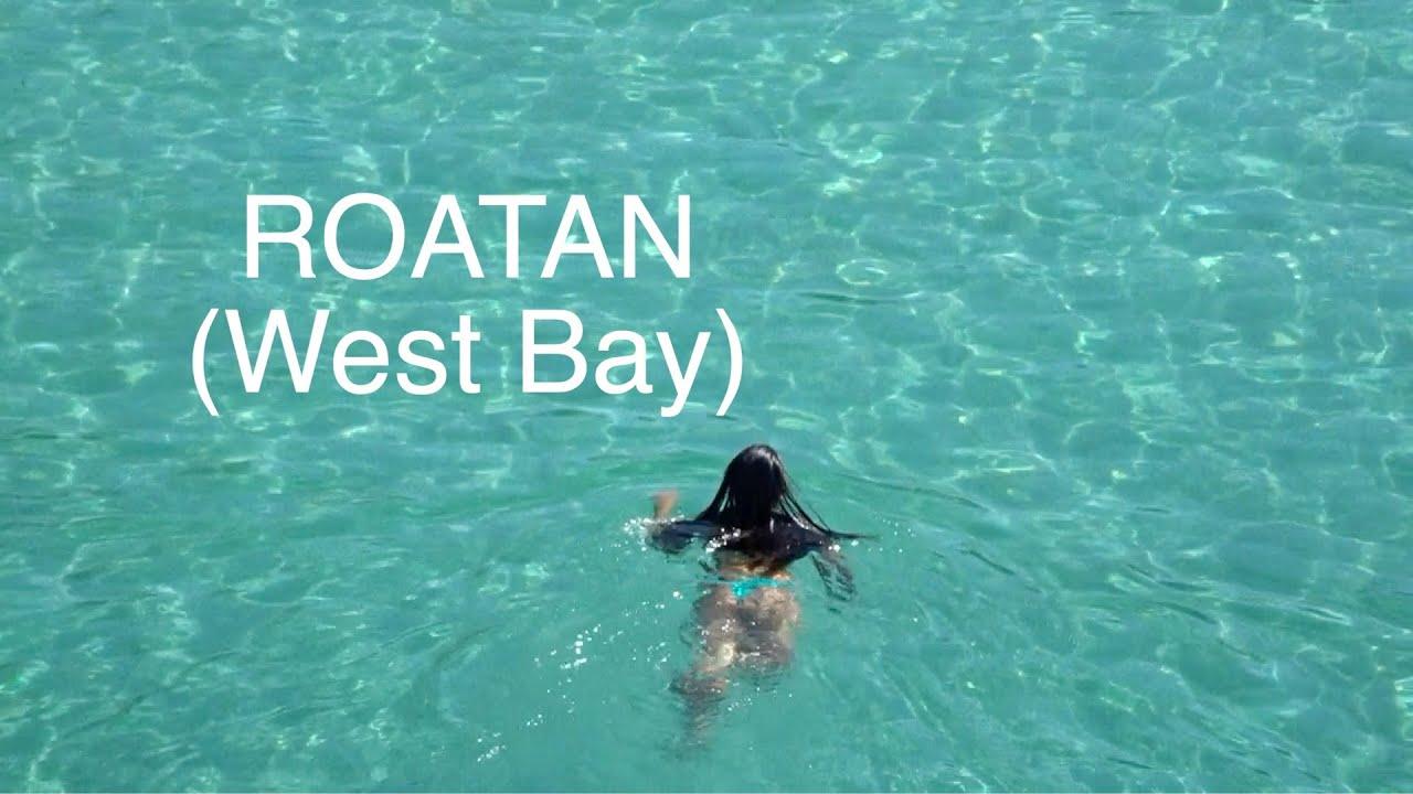 West Bay Beach in Roatan, Honduras, (2014.12.04) HD