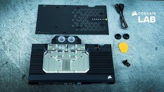 3090 Corsair Hydro X Series XG7 RGB 30-Series Founders Edition GPU Water Block