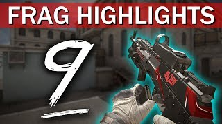 EXCLUSIVE PARTNER SKINS!! - Frag Highlights #9 (Black Squad)