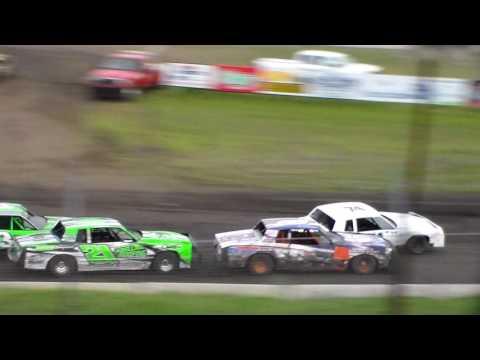 Hobby Stock Heat 2 @ Hamilton County Speedway 05/09/17