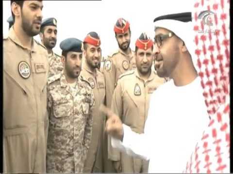 ماذا قال محمد بن زايد لصقور الإمارات خلال لقائه بهم في قاعدة الملك فهد الجوية بالطائف؟