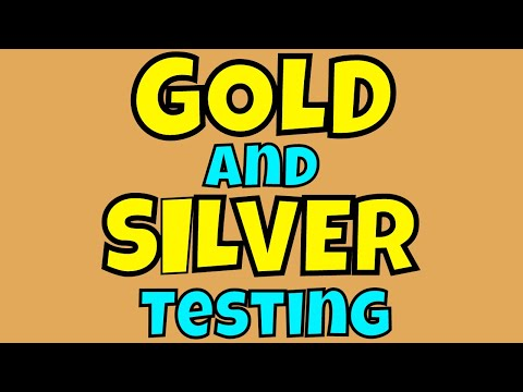 Magnets, Loops, and Jewelry Testing!   How to Test Gold and Silver Jewelry
