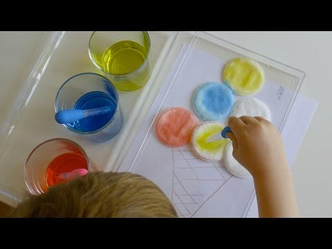 Simple Fine Motor Skills Activity for children