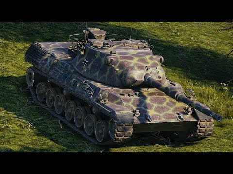 World of Tanks Leopard 1 - 11 Kills 11,5K Damage thumbnail