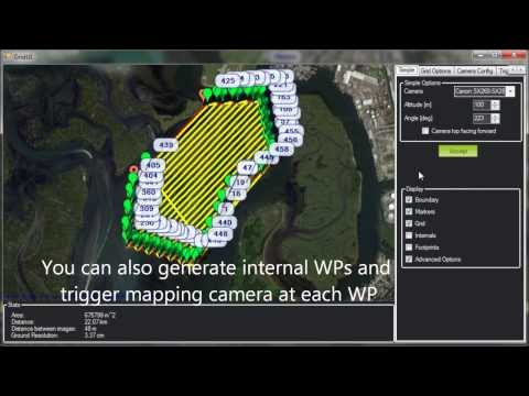 Mapping Camera Automatically Triggered By Autopilot