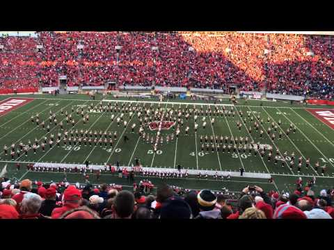 University of Wisconsin Marching Band - Phantom of the Opera Halftime Show