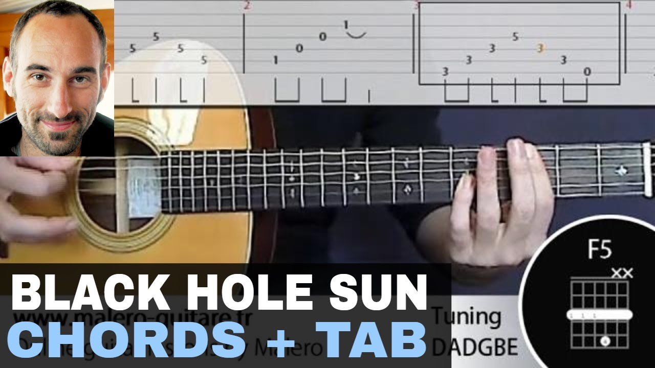 black hole sun training track guitar tab chords youtube. Black Bedroom Furniture Sets. Home Design Ideas