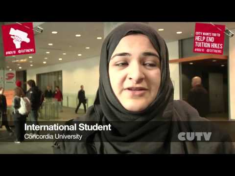 Vox Pop What do students have to say about the Nov10 Movement