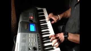 Raag Bhupali on keyboard