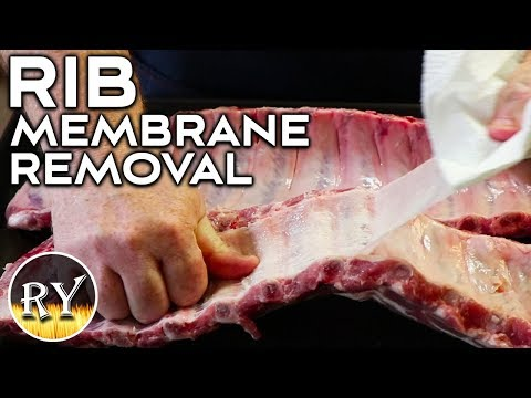 How To Easily Remove The Membrane From Your Ribs
