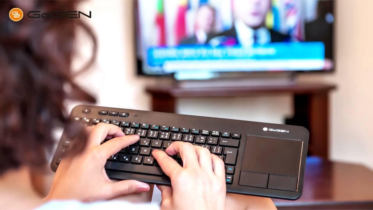 acda5f171 Smart bezdrátová klávesnice WKB360CZB - YouTube