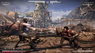 Mortal Kombat X Online Gameplay.