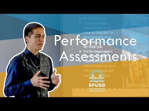 SFUSD Performance Assessments