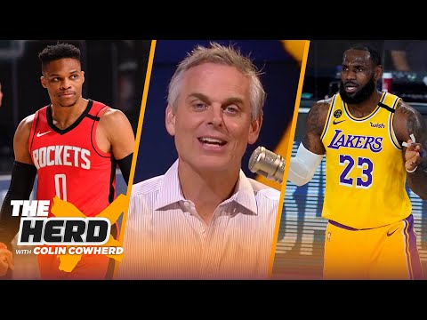 Rockets benefited most from NBA Bubble, Lakers not a championship team – Colin Cowherd   THE HERD