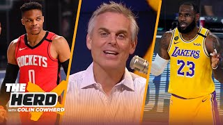 Rockets benefited most from NBA Bubble, Lakers not a championship team - Colin Cowherd | THE HERD